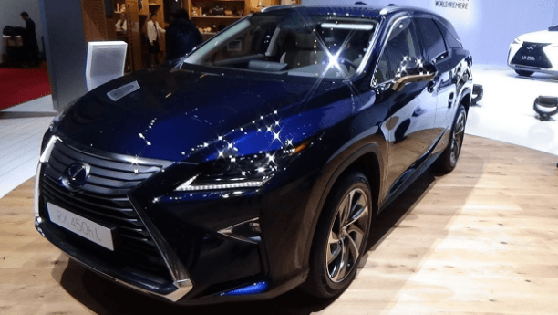 2020 Lexus Rx 350 Redesign Engine And