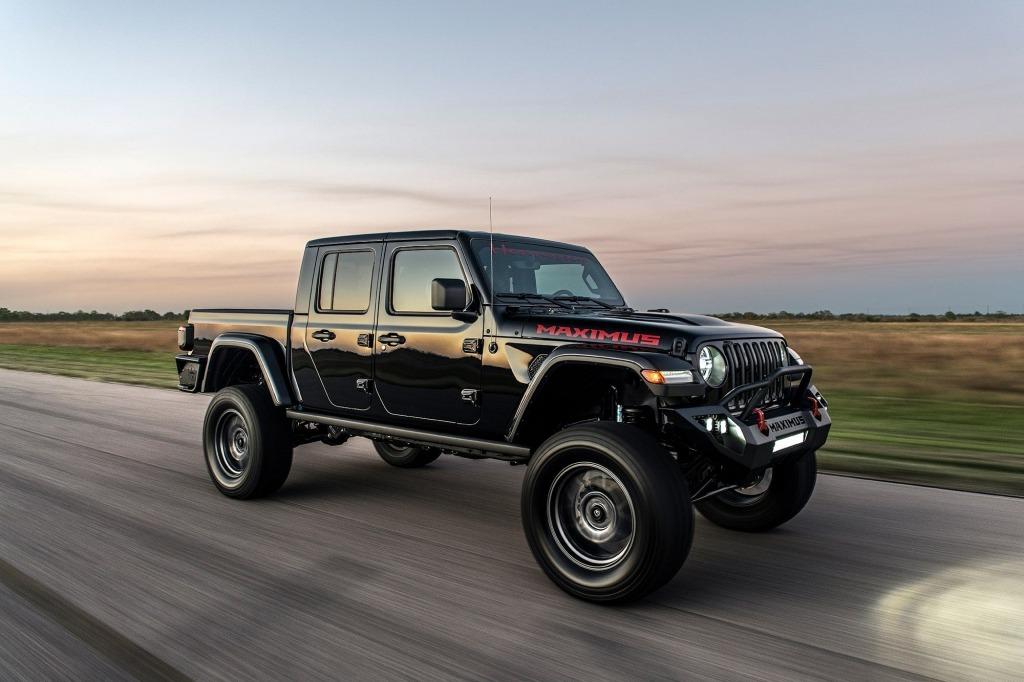 2021 jeep gladiator hennessey maximus design and price